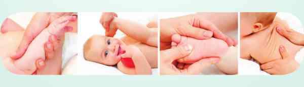 accompagnement massage bébé