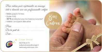 Offrez un massage bébé aux nouveaux parents